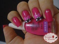 Pink e laço Máah Adesivos