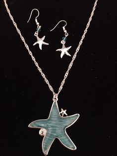 Sea Jewelry, Starfish Necklace, Venice, Sterling Silver, Venice Italy