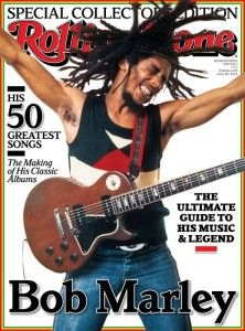 Cover: Bob Marley in Rolling Stones Magazine Special Edition 2014