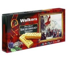 "Walkers Shortbread: ""Raising the Standard"" Shortbread Fingers"