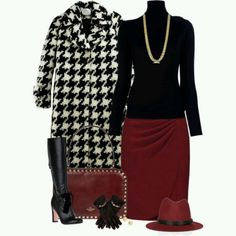 Houndstooth Combo