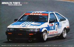 Fujimi 1/24 Scale Minolta Tom's Toyota AE86 Levin #Fujimi