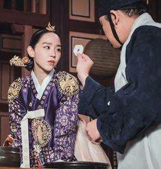Korean Traditional Dress, Traditional Dresses, Kdrama, Jung Hyun, Drama Korea, Korean Fashion, Sari, Actresses, Queen