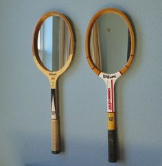 Vintage Tennis Racket Mirror by TheArtofChic on Etsy