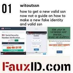 how to get a new valid ssn now not a guide on how to make a new fake identity and valid ssn Fake Identity, Future Website, Simple Life Hacks, Program Design, Make Me Happy, How To Get, Education, News, Passive Income