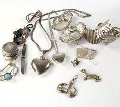 Lalounis, Jensen and other Sterling : Lot 442