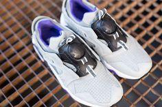 #Puma Disc Blaze Crackle Pack Grey/Violet #sneakers