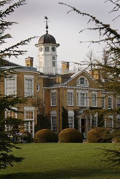 polesden lacey, near dorking, surrey, england | regency villa