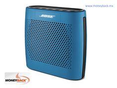 El altavoz Bluetooth Color SoundLink de Bose es una bocina de diseño compacto y liviano que reproduce sonido real de forma inalámbrica a través de tu Smartphone, laptop, tableta o cualquier dispositivo bluetooth. Cuenta con una batería de hasta 8 horas y emite avisos de voz para sincronizar dispositivos y cuando la pila está baja. Bose México es negocio afiliado a Moneyback.  #taxfree #moneyback #devolucióndeimpuestos #viajeamexico