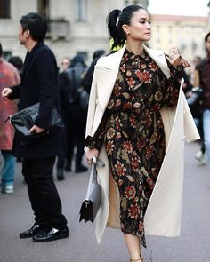 Every Single Designer Outfit Heart Evangelista Wore To Milan Fashion Week A/W Heart Evangelista Style, Hypebeast Women, Milan Fashion Weeks, Ootd, Elegant Outfit, Elegant Dresses, International Fashion, Sophisticated Style, Classy Outfits