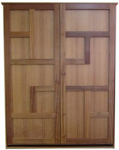 Queen size Eclipse Murphy Bed in African Mahogany wood with Natural finish.  I like the style. I jus thave to see the price and size.