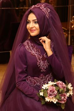 Pınar Şems Sare Abiye Mor - Pınar Şems