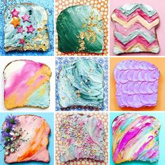 CULTURE N LIFESTYLE — Move Over Unicorn Toast! Delicious Mermaid Toast...