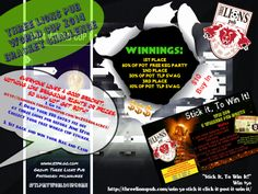 Win Cash and Keg Party $10 Entry Learn More at: http://lionsden.threelionspub.com/wc2014bracket/