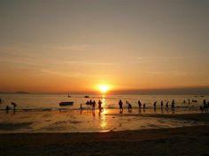 Bangsaen Beach, Cholburi, Thailand