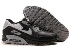 UK Market - Nike Air Max 90 Mens Grey Black White Trainers