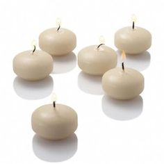 """Floating Candles 2"""" Set of 72  $35.99 Floating Candles, Beach Party, 50th Anniversary, Ivory, 2 Set, Daughters, Wedding Ideas, Amazon, Decor"""
