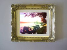 """Port Meadow"" the Oxford series by Jewel £100 incl frame"