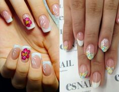 Modele unghii french cu gel Nails, Beauty, Finger Nails, Ongles, Beauty Illustration, Nail, Nail Manicure