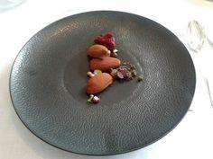 Dessert in 3* michelin restaurant 'Hof van Cleve' in Belgium - www.hofvancleve.com