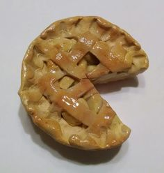 Baked Apple Pie Refrigerator Magnet Polymer by GuiltfreeDecadence, $10.00