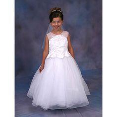Find Girls White First Communion Dress