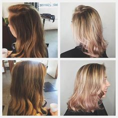 Color transformation by Jessica!  Book today at www.thecherryblossomsalon.com or 404-856-0533 #thecherryblossomsalon #atlantasalon