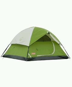 6 Person Camping Coleman Sundome Camp Outdoor Hiking Tent Shelter Easy New