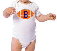 NEW  Baby Football Onesie  Great Baby Shower Gift by ThePoshShoppe, $10.00