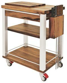 New Backyard Bar Ideas Mom Ideas Diy Furniture Videos, Pallet Furniture Designs, Ikea Furniture, Furniture Styles, Furniture Making, Kitchen Utility Cart, Kitchen Island Cart, Butcher Block Kitchen, French Style Homes