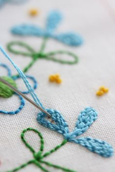 I also cover my Double Back Stitch, Satin Stitch, Normal Back Stitch plus a few other hints and tips on stitchery.