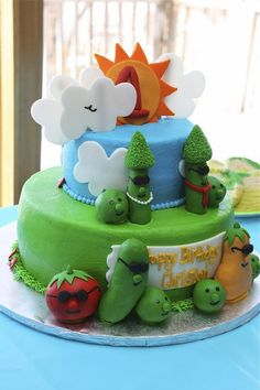 another veggie tales cake