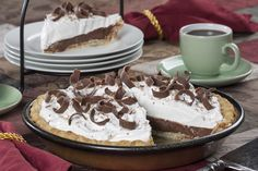 It doesn't matter how stuffed you are, we bet you'll find room for a slice (or two!) of our Homemade Chocolate Cream Pie. This sinfully rich chocolate cream pie is a popular dessert no matter where or when it's served, so you might want to make a few