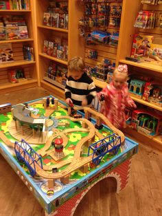 Train table at Barnes u0026 Noble & this Thomas the Train table top would look better at home instead of ...