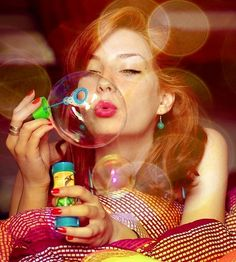 Womens Photography By Christiana One Different Types Of Dresses, Bubble Fun, Blowing Bubbles, Soap Bubbles, Spring Fashion Trends, Its A Wonderful Life, Happy People, Photography Women, Her Style