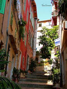 Villefranche Alleyway
