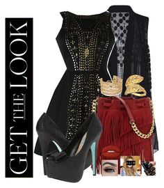 """""""Get the Look: Met Gala 2016"""" by soccercrazy14 ❤ liked on Polyvore featuring Mika & Gala, Daniela Swaebe, Elizabeth and James, Capwell + Co, Betsey Johnson, Lime Crime, GetTheLook and MetGala"""
