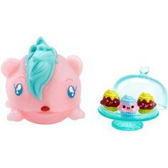 Qualified Pooparoos Surpriseroos Squishy Toilet White Bunny Purple Hair Mattel New Moc Dolls & Bears