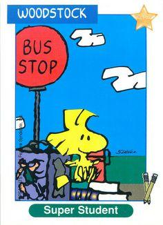 Peanuts MetLife All Star Cards - Woodstock
