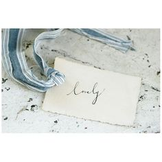 Beautiful tag from @oysterbridgeandco.