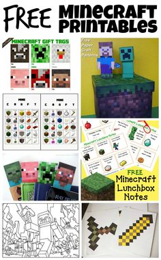 Mobiles Minecraft-Gameband - Crafts For Boys 9th Birthday Parties, Minecraft Birthday Party, 8th Birthday, Minecraft Party Ideas, Minecraft Party Decorations, Birthday Ideas, Minecraft Gifts, Minecraft Skins, Ideas Party