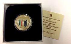 Medaglia celebrativa Inter Campione d'Italia 1988-1989 con scatola originale