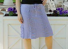 Ravelry: Another Favorite Skirt pattern by Lana Voskoboynik