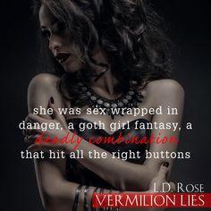 Vermilion Lies (The Order of the Senary Book Forbidden Love, Paranormal Romance, Goth Girls, Trident, Spotlights, Novels, Vampires, Freeze, Knight