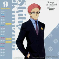 The little things in Life - ONS 2016 Calendar cards set 2 Feat. Shinoa Hiiragi...