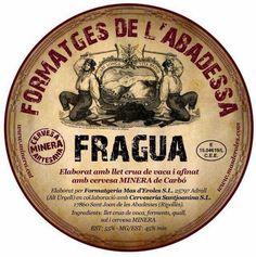 La Formatgeria Mas D´Eroles elabora un queso llamado Ros D´Eroles, que es la base que utiliza la Formatgeria l'Abadessa d'Adrall para elaborar su queso