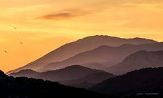 Colors - Puesta de sol en la Montaña de Riaño.  Sunset in Riaño Mountains.