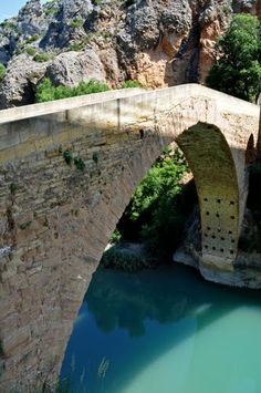 Puente del Diablo Bridge, River, Outdoor, Bridges, Devil, Outdoors, Bridge Pattern, Outdoor Games, The Great Outdoors