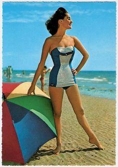 maillots de bain des annees 40 et 50 7   Maillots de bain des années 40 et 50   vintage pin up photo maillot de bain image années 50 années 40