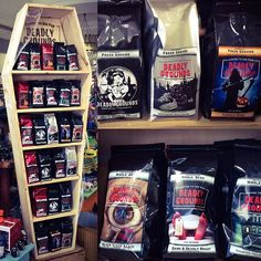 Dying for a cup? Our new #coffee flavours by @deadlygroundscanada are helping us get in the spirit for #Halloween ☕️👻💀